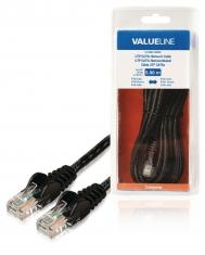 Valueline VLCB85100B50 Utp Cat5e Netwerkkabel Rj45 Mannelijk - Rj45 Mannelijk 5,00 M Zwart