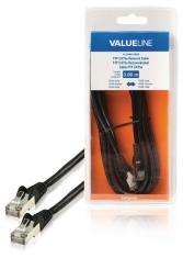 Valueline VLCB85110B30 Ftp Cat5e Netwerkkabel Rj45 Mannelijk - Rj45 Mannelijk 3,00 M Zwart