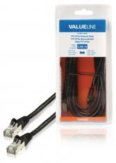 Valueline VLCB85110B50 Ftp Cat5e Netwerkkabel Rj45 Mannelijk - Rj45 Mannelijk 5,00 M Zwart