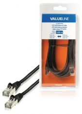 Valueline VLCB85210B30 Ftp Cat6 Netwerkkabel Rj45 Mannelijk - Rj45 Mannelijk 3,00 M Zwart