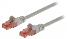 Valueline VLCP85200E1,50 Cat6 Utp Netwerkkabel Rj45 (8/8) Male - Rj45 (8/8) Male 1,50 M Grijs