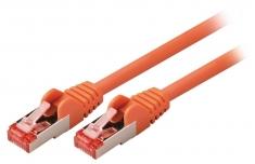 Valueline VLCP85221O15 Cat6 S/ftp Netwerkkabel Rj45 (8/8) Male - Rj45 (8/8) Male 1,50 M Oranje