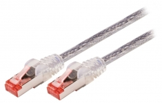 Valueline VLCP85221T20 Cat6 S/ftp Netwerkkabel Rj45 (8/8) Male - Rj45 (8/8) Male 2,00 M Transpar