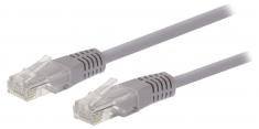 Valueline VLCT85000E10 Cat5e Utp Netwerkkabel Rj45 (8/8) Male - Rj45 (8/8) Male 1,00 M Grijs