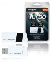 Integral INFD256GBTW3,0 Usb Stick Usb 3,0 256 Gb Wit/zwart