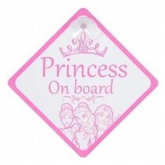 Disney Princess Bordje Baby On Board