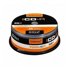 Intenso 1001124 CD-R 700Mb 52x Spindel 25 Stuks