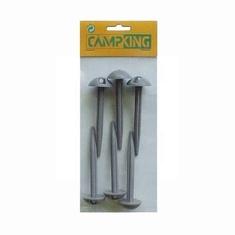 Campking 6x Grondzeilpen 10cm