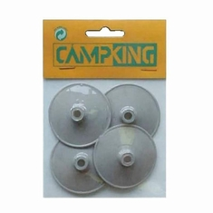 Campking 4x Regenkapjes 50mm