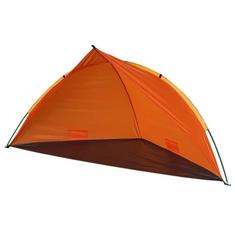 Summertime Beachshelter met Tas 260x110x110 cm Oranje