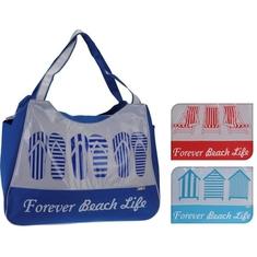 Strandtas Forever Beach Life 53x43x26 cm Assorti