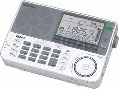Sangean ATS909X Draagbare Wereldradio Wit