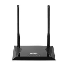 Edimax BR-6428NS V5 Draadloze Router N300 2.4 Ghz 10/100 Mbit / 10 Gigabit Zwart