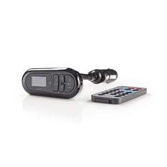 Nedis CATR100BK Auto-fm-zender Bluetooth Microsd-kaartsleuf Handsfree Bellen
