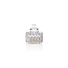 Nedis CCGB89302ME Netwerkconnector Rj45 (8p8c) Male - 10 Stuks Metaal