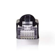 Nedis CCGP89350BK Netwerkconnector-set Rj45 Male + Trekontlasting - Voor Solid Cat5 Utp-kabels 1