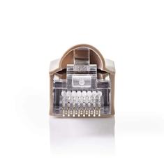 Nedis CCGP89350GY Netwerkconnector-set Rj45 Male + Trekontlasting - Voor Solid Cat5 Utp-kabels 1