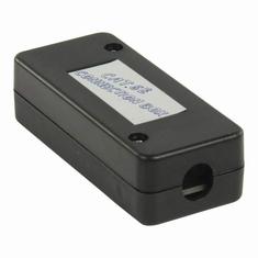 Nedis CCGP89800BK Netwerkkabel-aansluitbox Voor Utp-netwerkkabels - Zwart