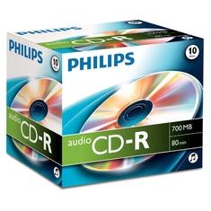 Philips CR7A0NJ10 CD Recordable 700MB 10 Stuks