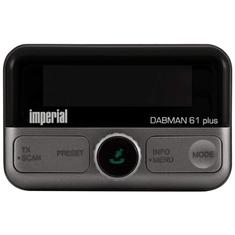 Imperial DABMAN 61 Plus Zender Radio Adapter Zwart/Zilver