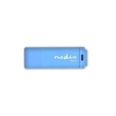 Nedis FDRIU232BU Usb 2.0-stick 32gb 12 Mbps Lezen / 3 Mbps Schrijven Blauw
