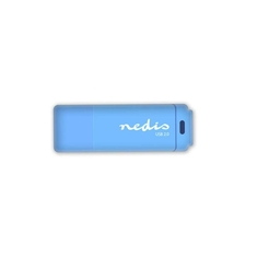 Nedis FDRIU264BU Usb 2.0-stick 64gb 12 Mbps Lezen / 3 Mbps Schrijven Blauw