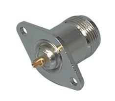 Valueline NC-202 Connector N Female Metaal Zilver