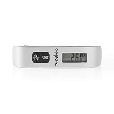 Nedis SCLU110GY Digitale Bagageweegschaal 50 Kg / 110 Lbs Thermometer
