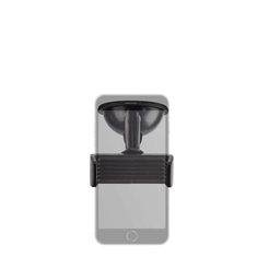 Nedis SCMT500BK Universele Smartphonehouder Voor In De Auto Raam/dashboard Zwart