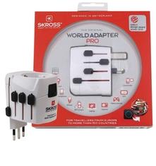 Skross SKR1103141 Reisadapter Wereld Pro Geaard