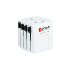 Skross SKR1302190 Reisadapter Wereld-naar-zwitserland Geaard