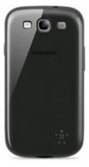 Belkin Silicone Case Grip Sheer Zwart voor Samsung i8190 Galaxy SIII mini