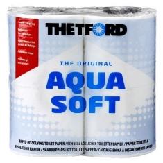 Thetford Aqua Soft Kampeer Toiletpapier 4 rol
