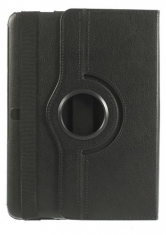 MW Book Case met Roterende Stand Zwart voor Samsung Galaxy Tab 4 10,1