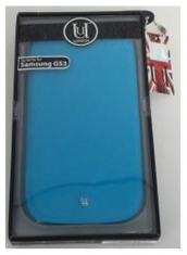 Uunique Folio Case Flourescent Blue voor Samsung i9300 Galaxy SIII