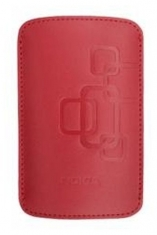 Nokia Leder Beschermtasje CP-342 Rood