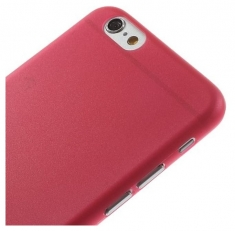 MW Ultra Thin Hard Case Rood voor Apple iPhone 6