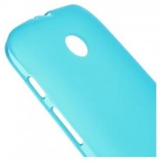 MW TPU Case Licht Blauw voor Motorola Moto E