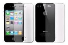 Display Folie Full Body (Clear) voor Apple iPhone 4/ 4S