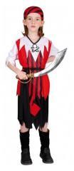 Clown Kinderkostuum Piratenmeisje 10-12 jaar