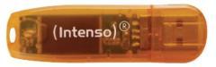 Intenso INT-3502490 Usb Stick Usb 2,0 64 Gb Transparant