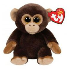 TY Classic Bananas Knuffel Aap 15cm