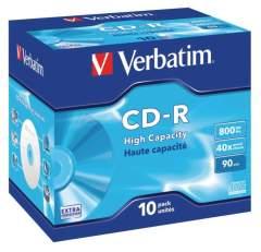 Verbatim VB-CRD89JC Cd 800 Mb 10 St