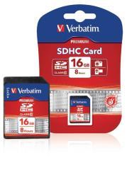 Verbatim Vb-sdhc10-16g Sdhc-kaart 16 Gb Class 10