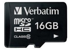 Verbatim VB-TFHC10-16G Microsdhc-kaart 16 Gb Class 10