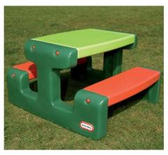 Little Tikes 479A Picknicktafel Evergreen