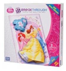 Mega Puzzles Disney Princess 50676EAG 3D Breakthrough Puzzel Level 2