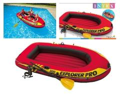 Intex 58358NP Explorer Pro Boot 300 Set met Peddels