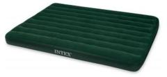 Intex 66969 Prestige Downy Queen 2-Persoons Luchtbed 203x152cm + Luchtpomp