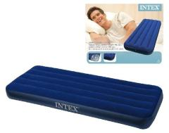 Intex 68950 Classic Downy 1-Persoons Luchtbed 191x76x22cm
